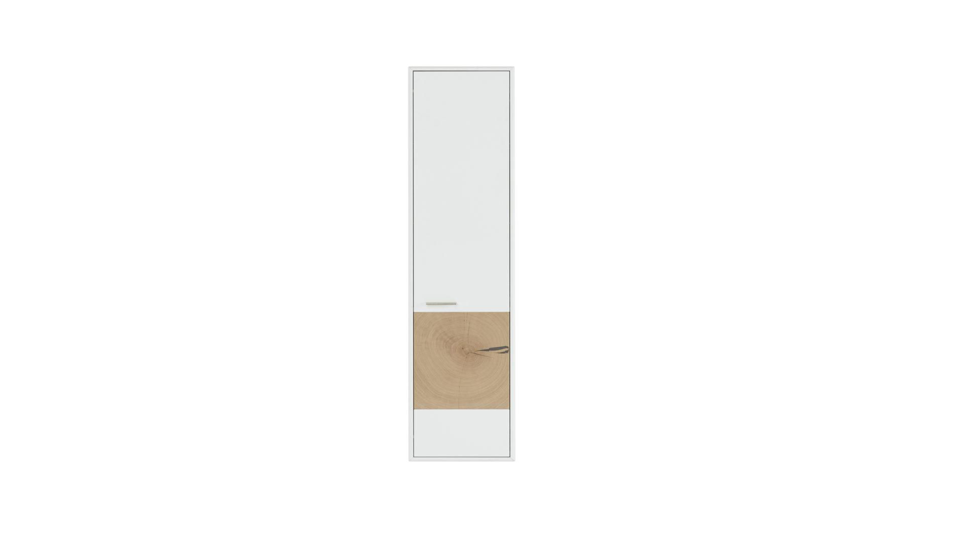 wohnland breitwieser mobel a z badmobel interliving interliving wohnzimmer serie 2102 hangeschrank helles asteiche furnier weisser mattlack eine