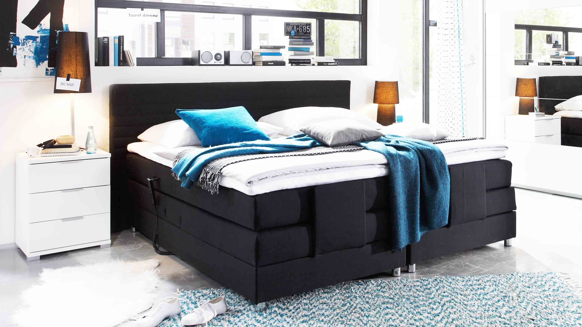 Großartig Betten Günstig Kaufen 180x200 Referenz Von Wohnland Breitwieser , Markenshops, Betten, Boxspringbett, Boxspringbett