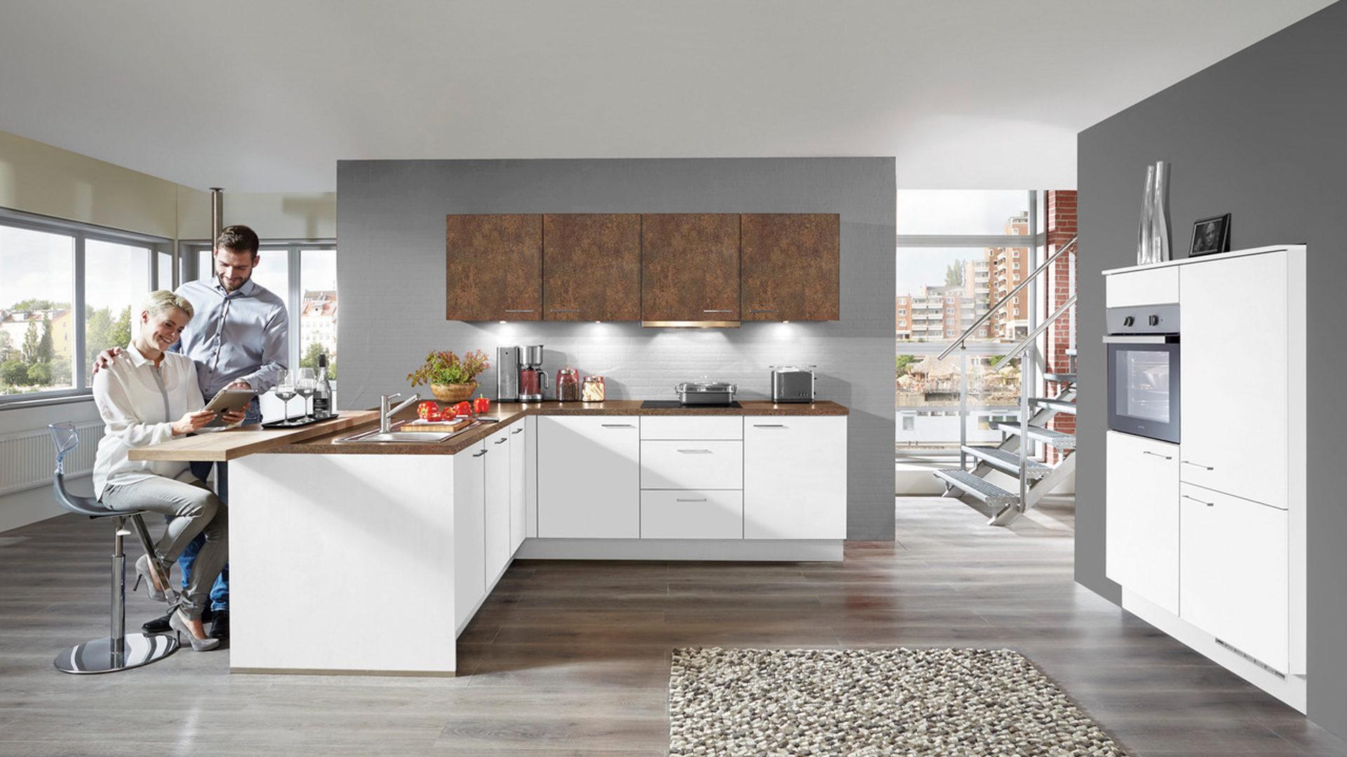 Wohnland Breitwieser , Räume, Küche, Einbauküche, Einbauküche mit ...