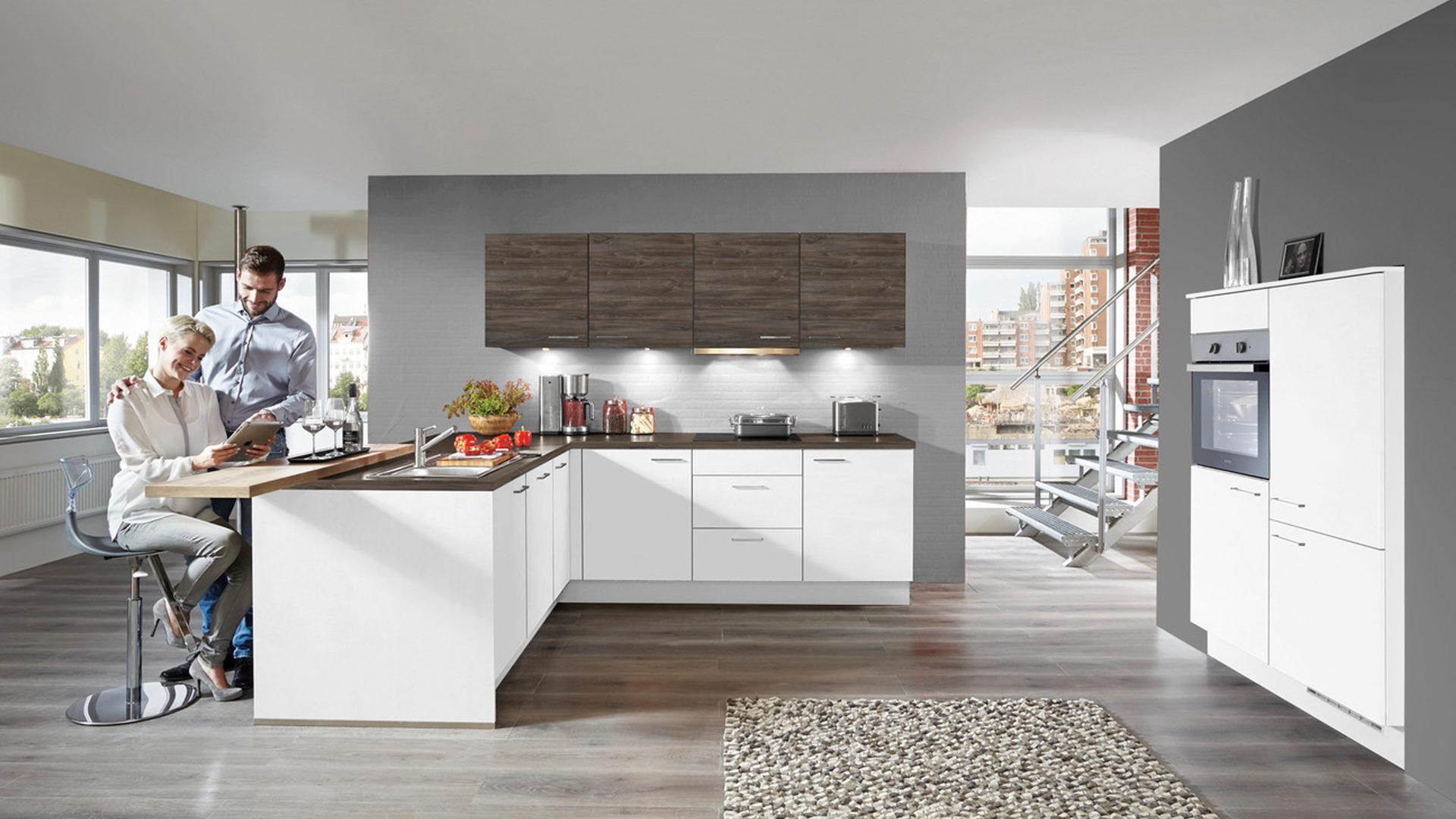 Ausgezeichnet Beste Küchenschrank Farbe Mit Weißen Geräten ...