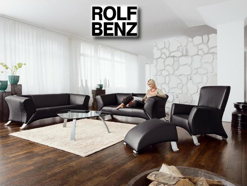 Ledersofa schwarz rolf benz  Wohnland Breitwieser | Rolf Benz 322 3-Sitzer | Rolf Benz 322 3 ...