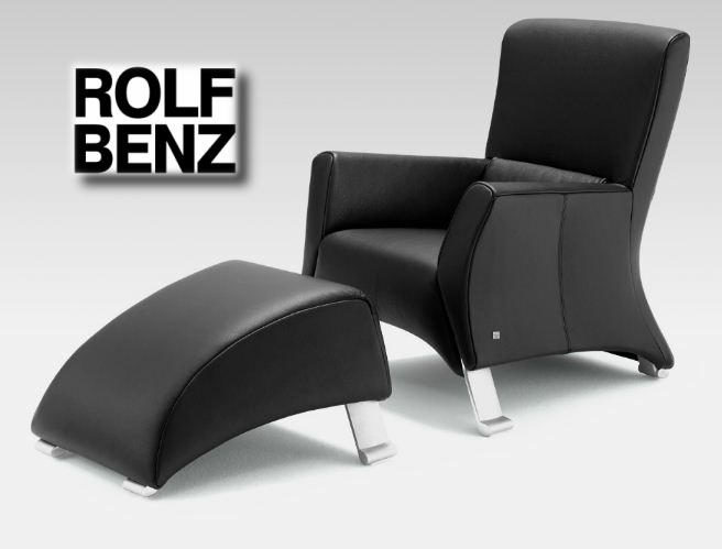 Relaxsessel modern günstig  Wohnland Breitwieser | Sessel | Rolf Benz 322 Hocker | Leder ...