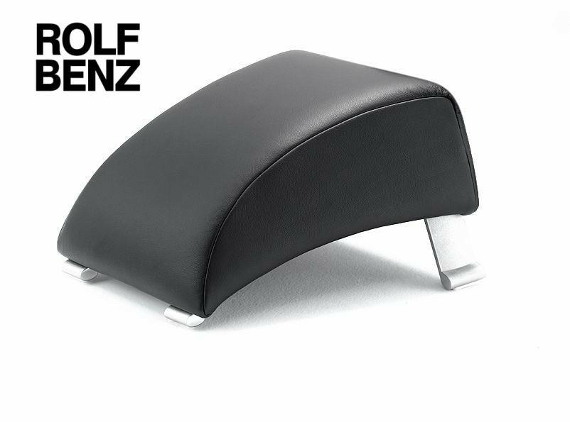 Hocker modern schwarz  Wohnland Breitwieser | Sessel | Rolf Benz 322 Hocker | Leder ...