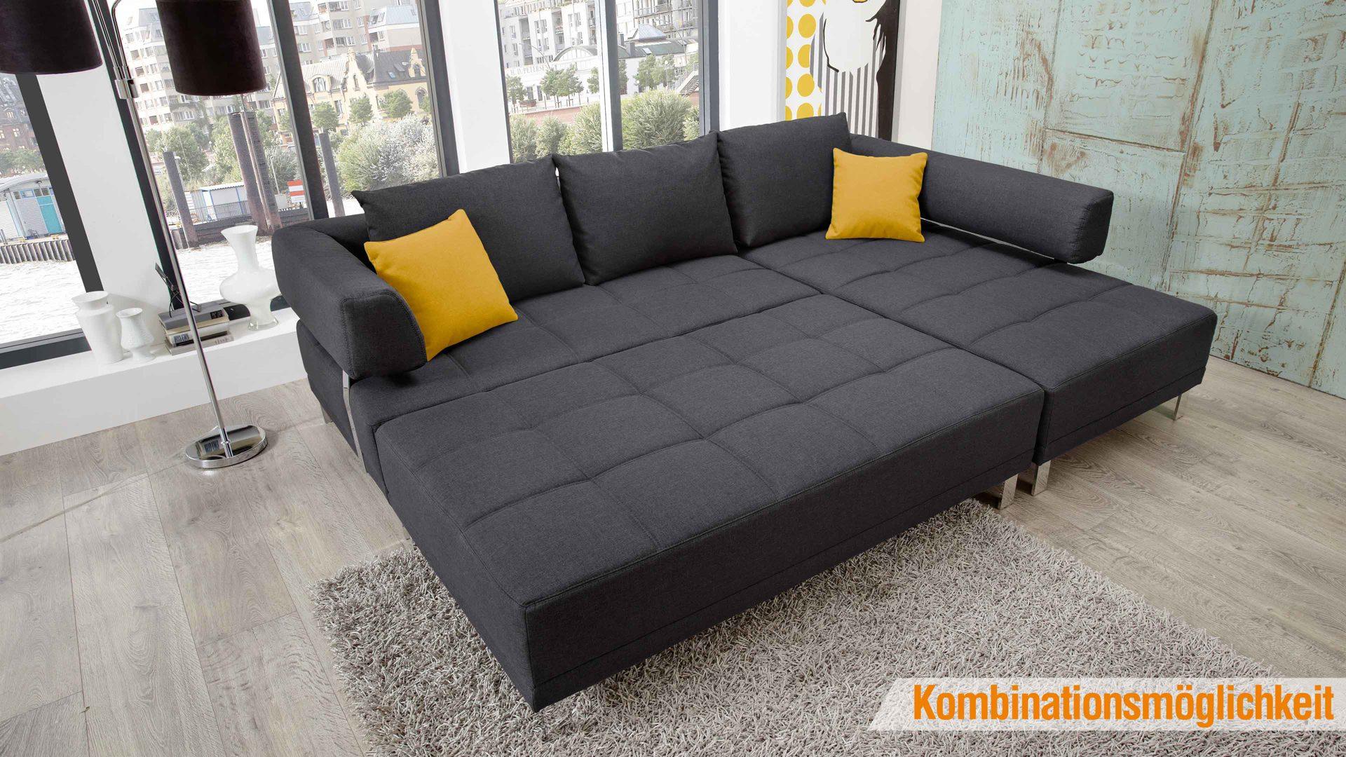 Lounge ecksofa  Wohnland Breitwieser | Sofas | Lounge-Ecksofa mit hochwertiger ...