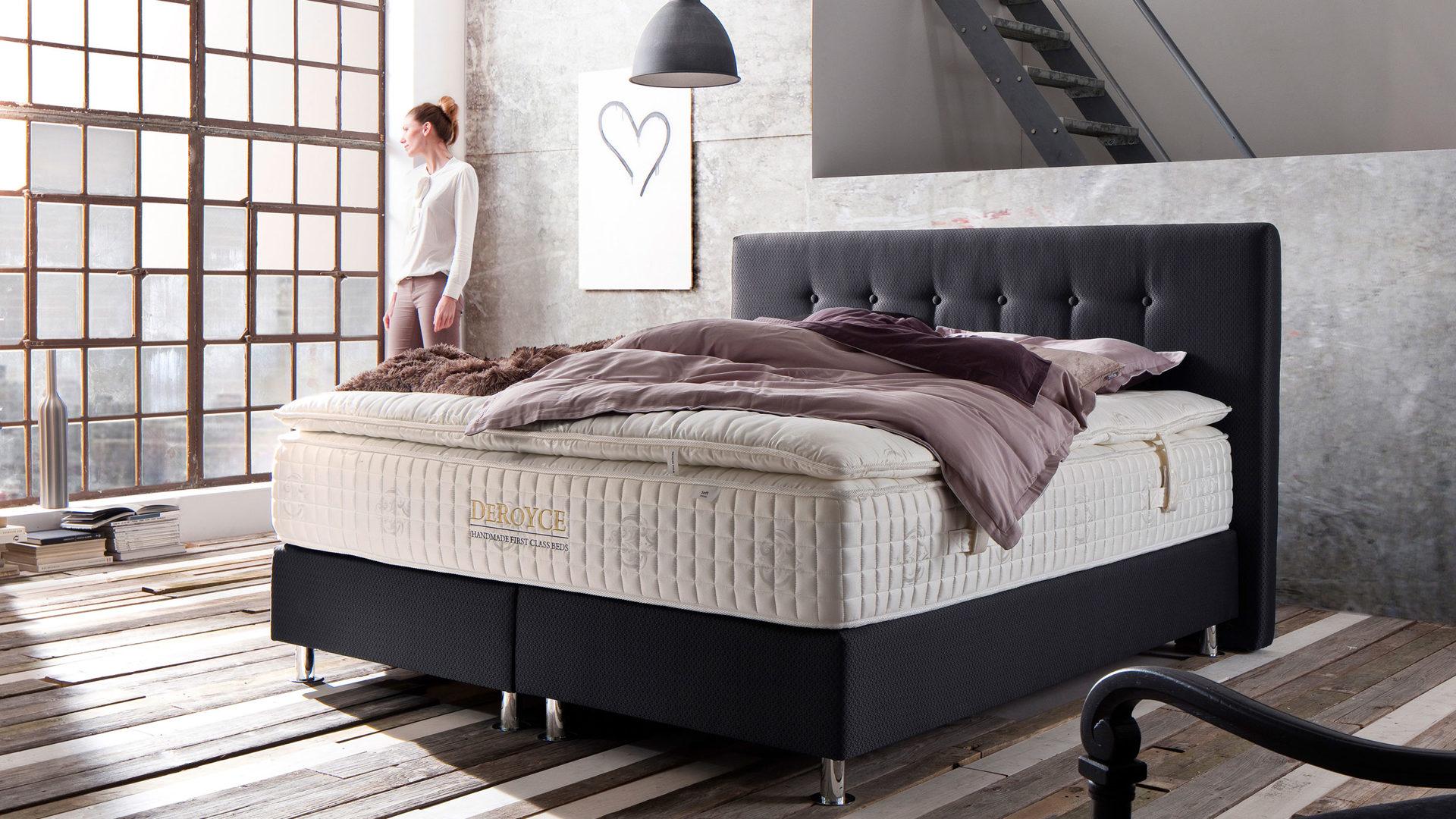 Schlafzimmer dunkelbraun: bett x schlafzimmer massiv holz möbel ...