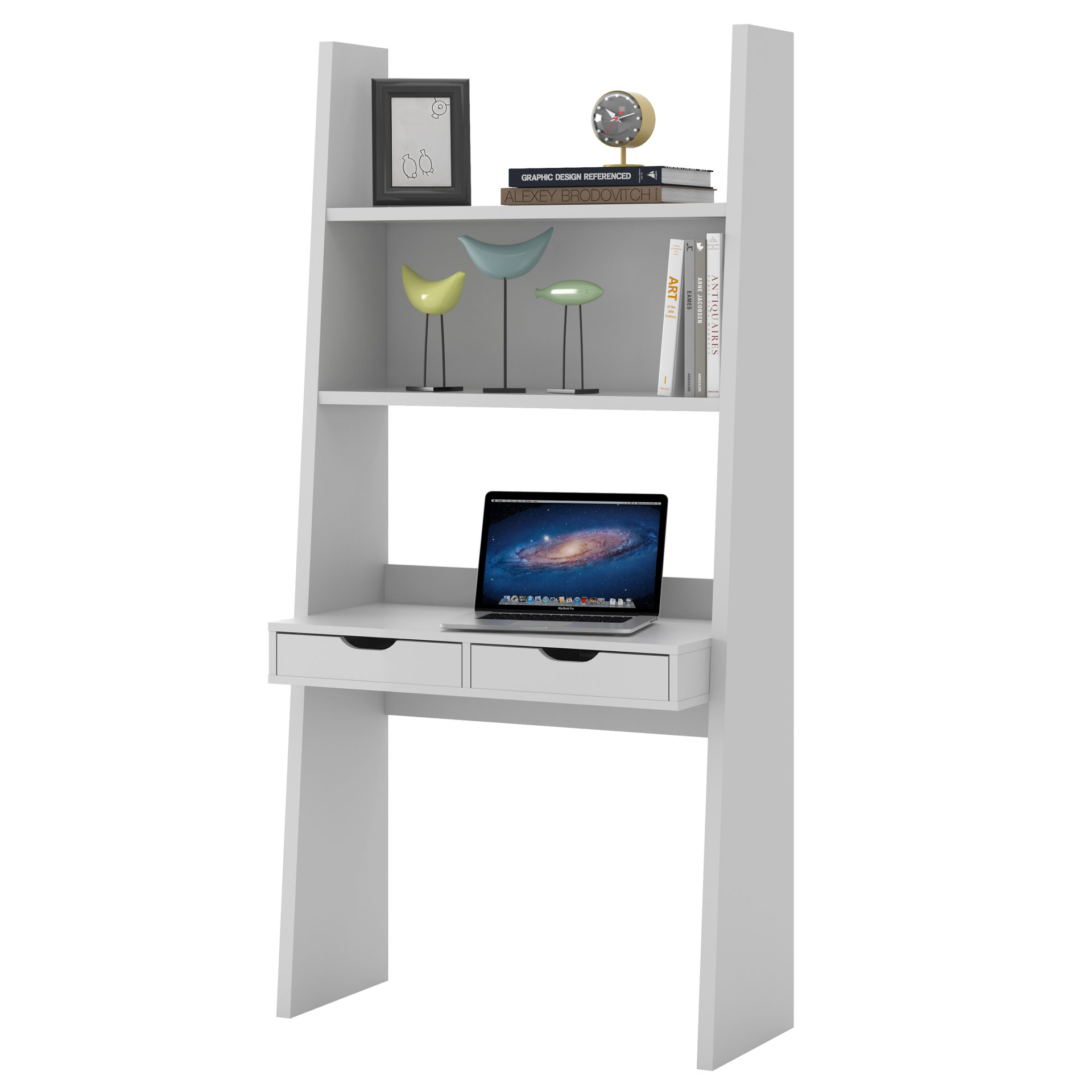 Schreibtisch weiß mit regal  Wohnland Breitwieser | Startseite | Regal mit Schreibplatte als ...