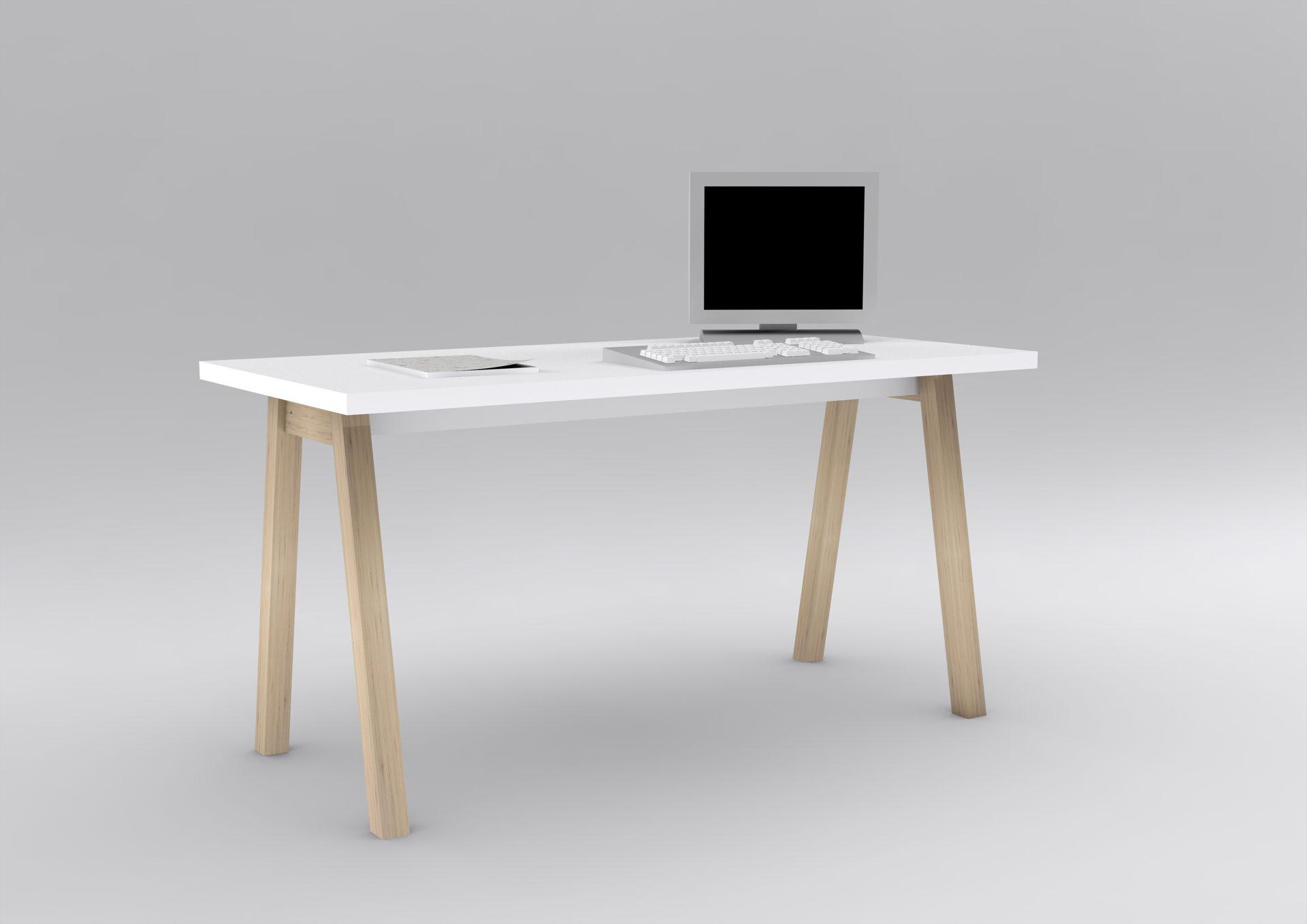 Eckschreibtisch holz weiß  Wohnland Breitwieser | Möbel A-Z | Tische | Schreibtisch, ein ...