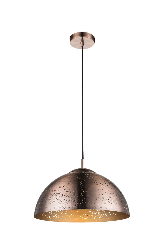 Wohnland Breitwieser , Möbel A Z, Lampen + Leuchten, GLOBO, GLOBO  Pendelleuchte Tamor, Antik Kupferfarbenes Metall U2013 Durchmesser Ca. 40 Cm