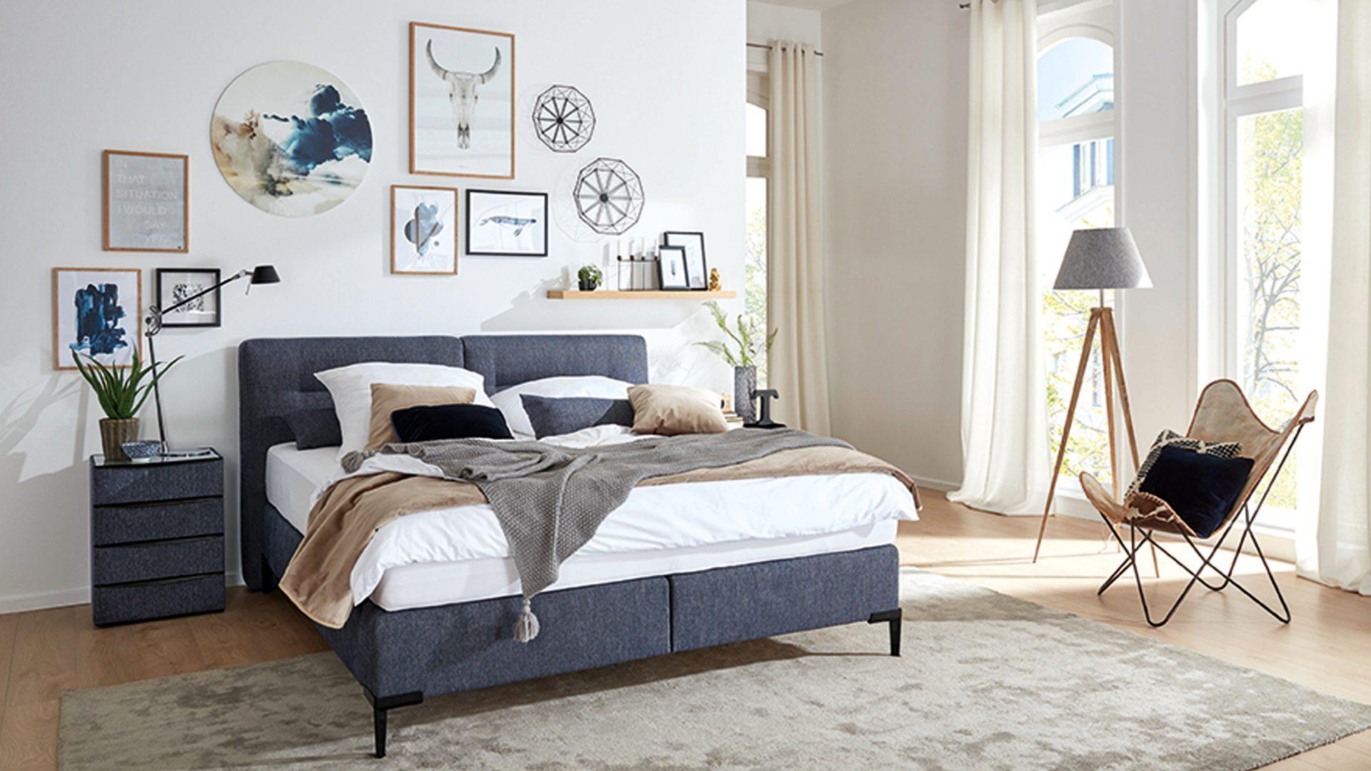 Wohnland Breitwieser , Räume, Schlafzimmer, Betten, Interliving ...